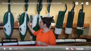 Die Vorwerk Kobold Modelle VK